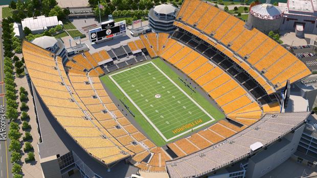 Pittsburgh Steelers Virtual Venue By Iomedia